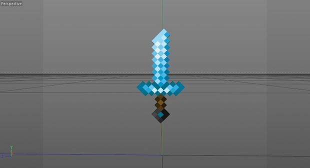 Customizable Minecraft Sword