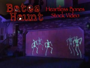 Heartless Bones Skeleton Dance BatesHaunt HD Stock Video