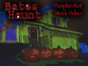 Pumpkin Rot! Singing Pumpkins BatesHaunt HD Stock Video