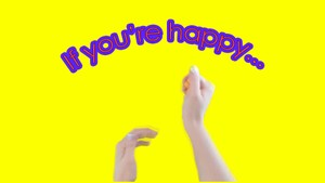 If you're happy and you know it | Playdough disco Music track
