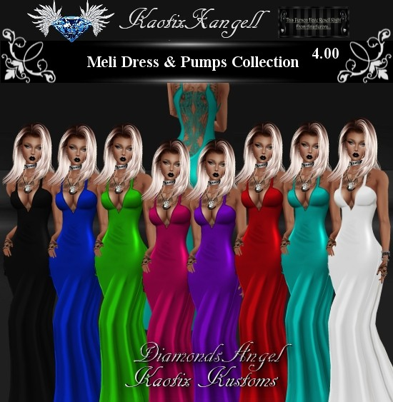 Meli Dress & Pumps Collection