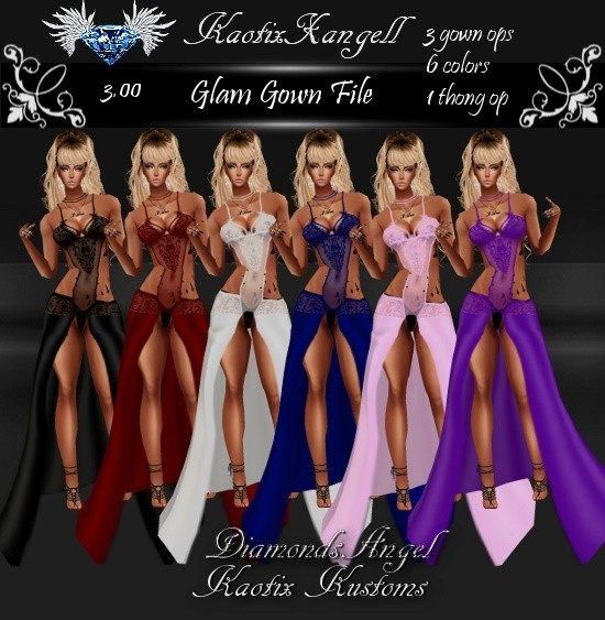 Glam Gown File