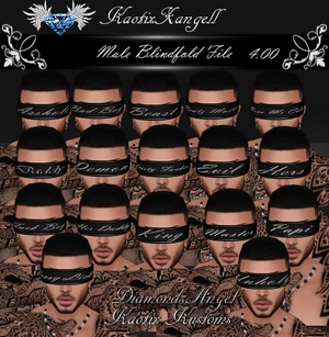 Blindfold File -Male-