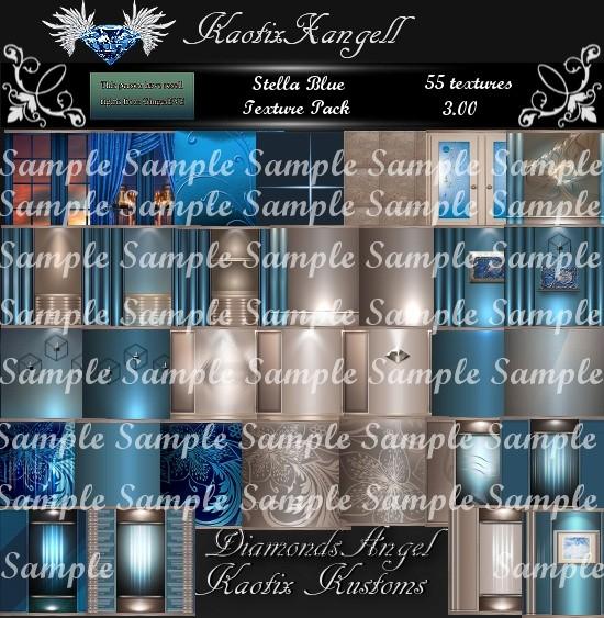 Stella Blue Texture Pack