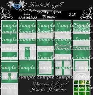 Beautiful Green Texture Pack