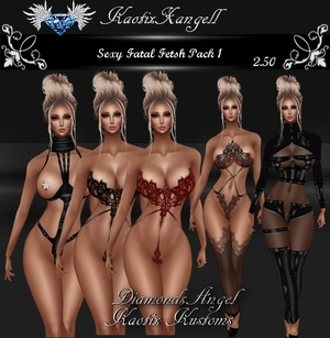 Sexy Fatal Fetish Pack 1
