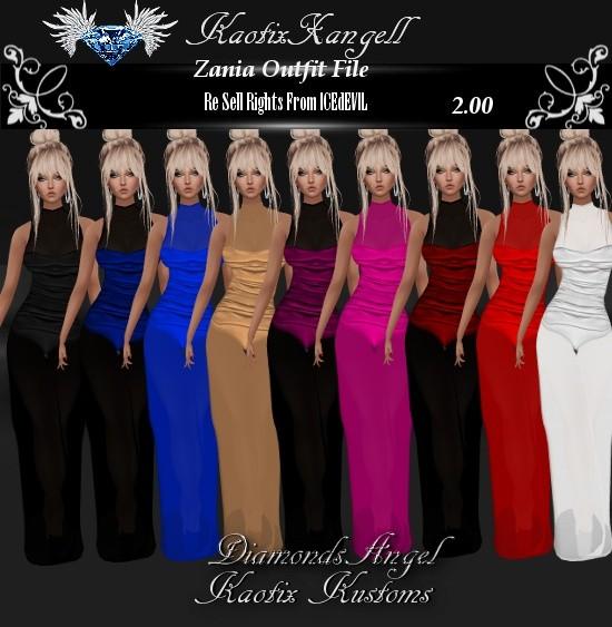 Zania Outfits File