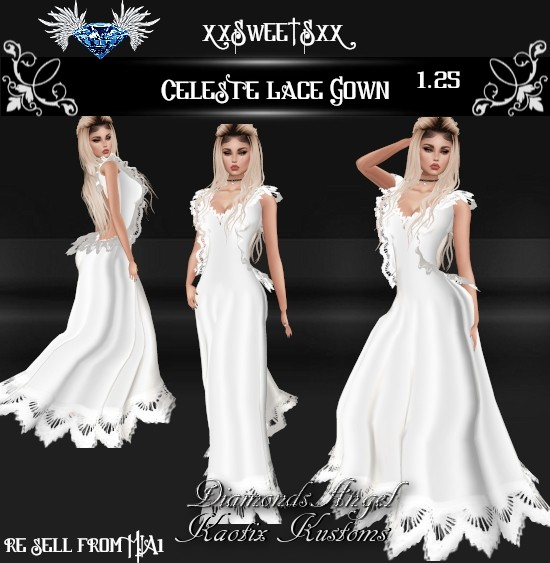 Celeste Lace Gown