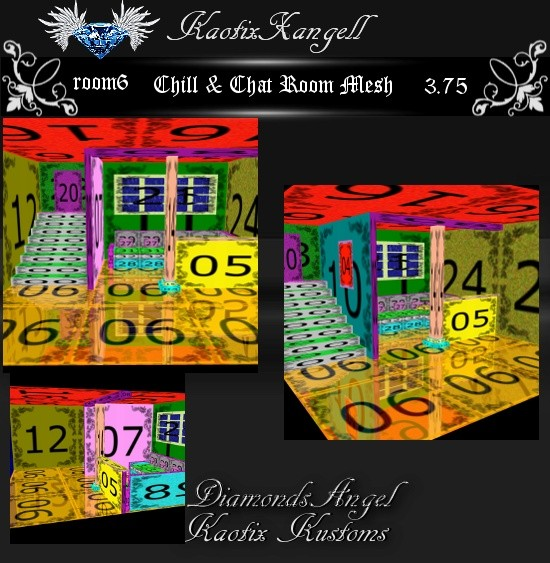 Chill & Chat Room Mesh -room6