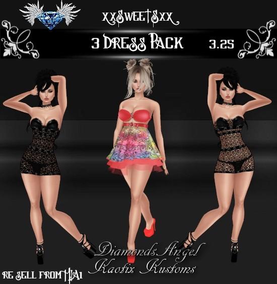 3 Dress Pack