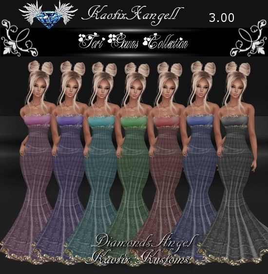 Tori Gowns Collection