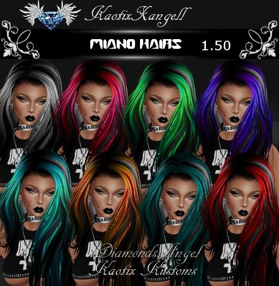 Miano Hairs