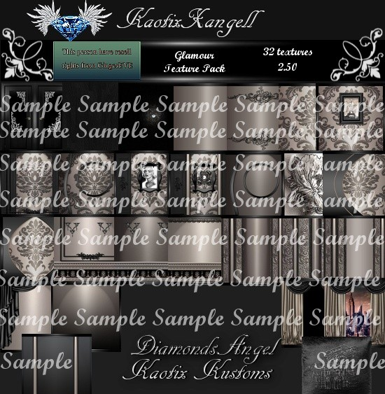 Glamour Texture Pack