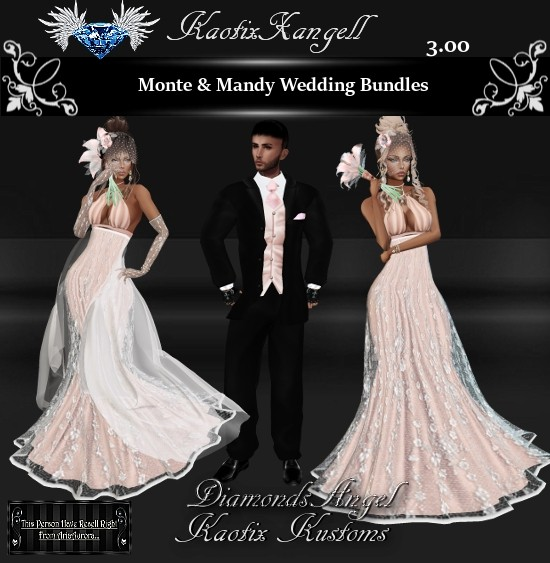 Monte & Mandy Wedding Bundles