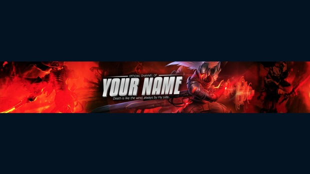 League Of Legends Youtube Banner Yasuo Banner