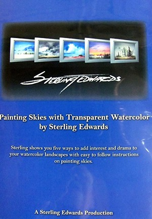Sterling Edwards Painting Skies with Transparent Watercolor