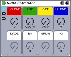 NRMN SLAP BASS for Ableton Live