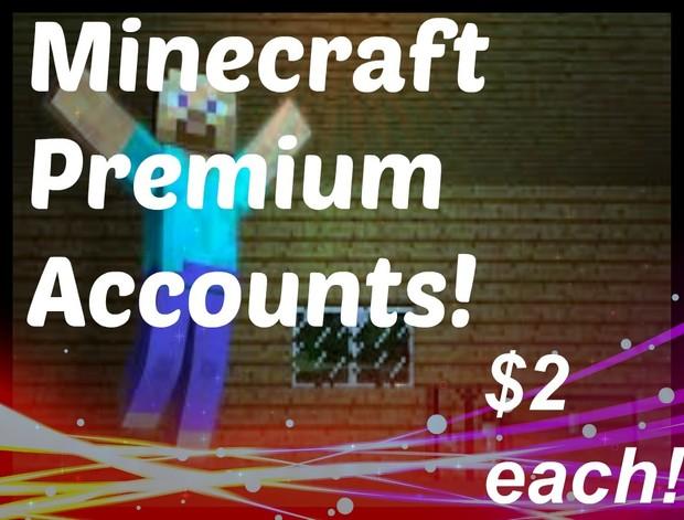 minecraft premium accounts