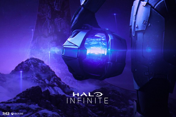Halo Infinite Poster PSD