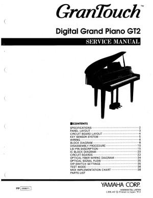 Yamaha GT2 Service Manual