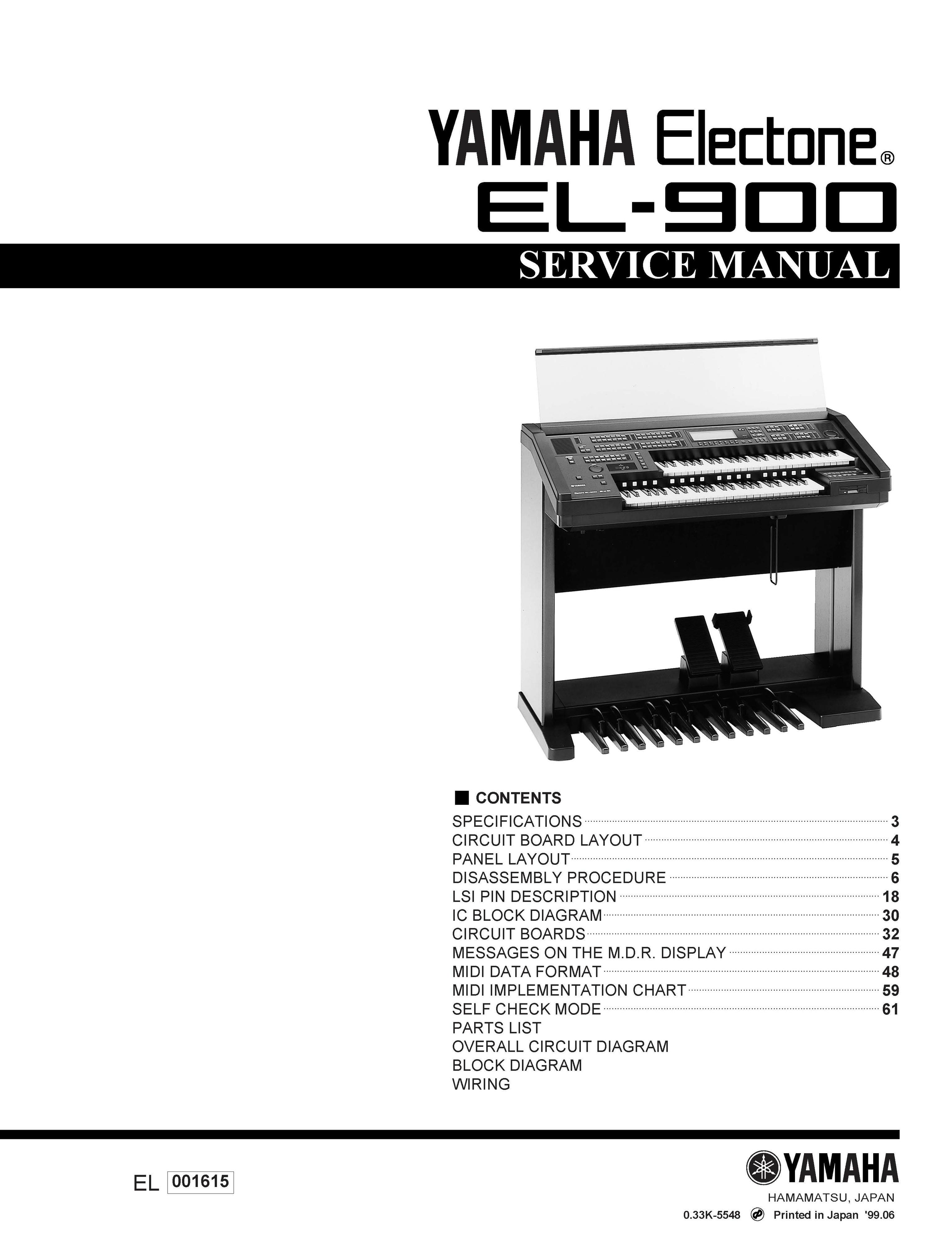 yamaha el900 gbr ivory m service manual music manuals rh sellfy com Parts Manual Service ManualsOnline