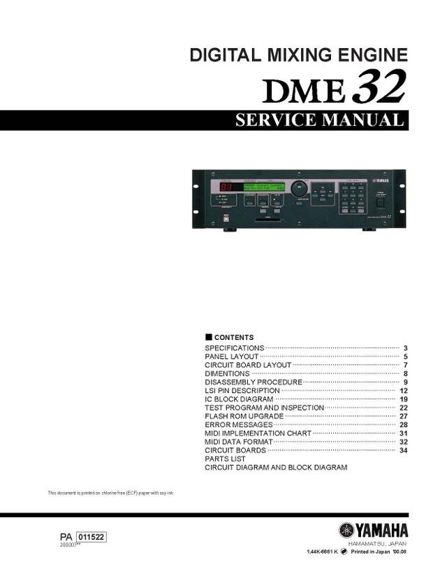 Yamaha DME32