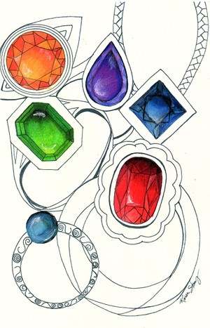 Colored Baubles