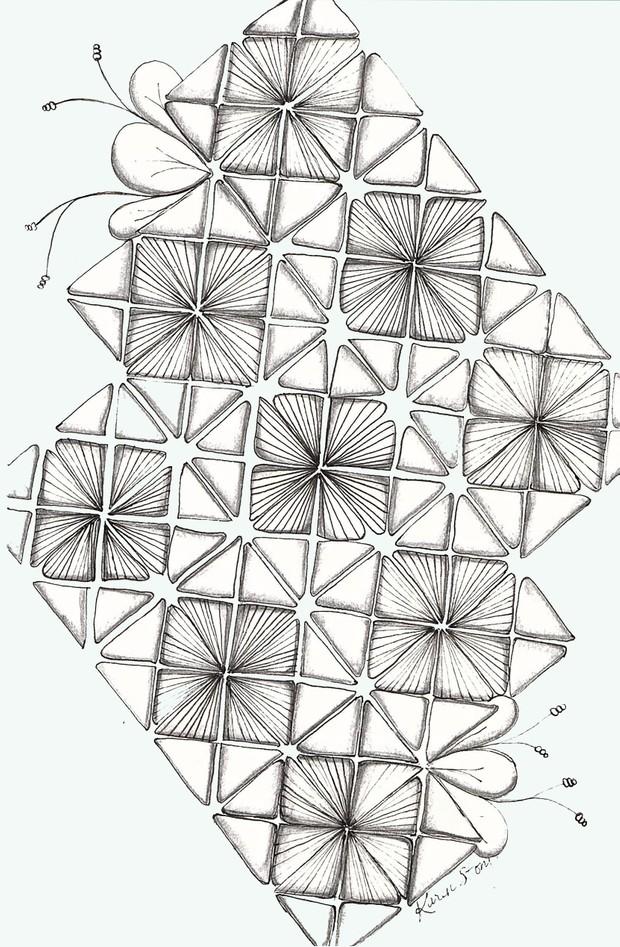 Tangled Nymph Pattern