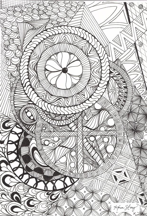Zentangles Galore