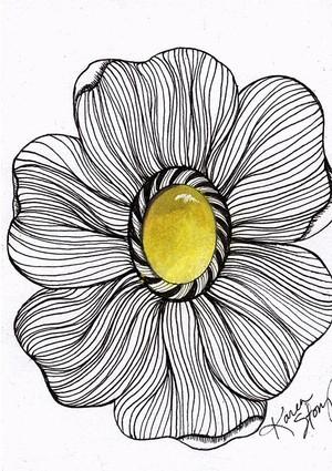 Yellow Gem Flower