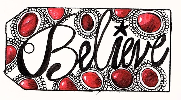 PDF of 10 Believe gift tags