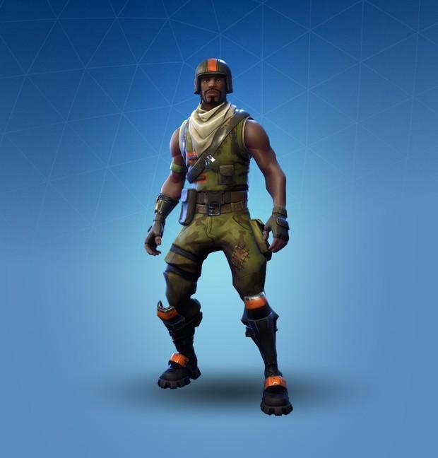 Tier 2 Black Knight Ginger Gunner Aerial Assault Tr Fortnite