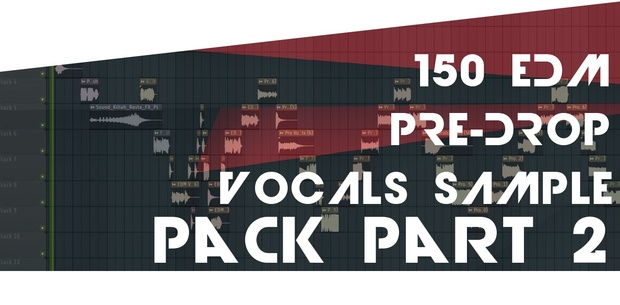 150 PRE-DROP EDM VOCAL SHOUTS/SAMPLES