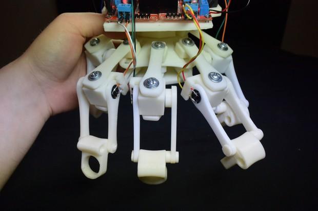 3D Printed Powered Exoskeleton Hands (Upgrade v1) - STL Files