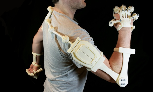 3D Printed Exoskeleton Arms - STL Files