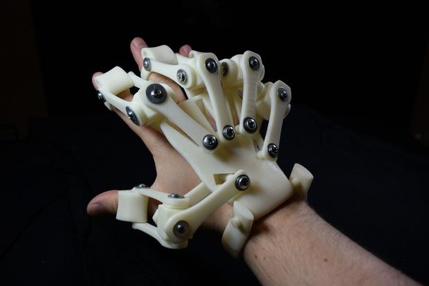 3D Printed Exoskeleton Hands - STL Files