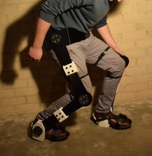 3D Printed Exoskeleton Legs & Feet - STL Files
