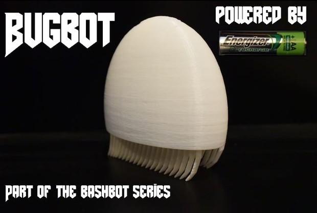 3D Printed BugBots - STL Files