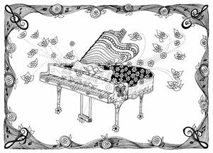 Hippy Grand Piano
