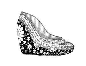 Color a Shoe