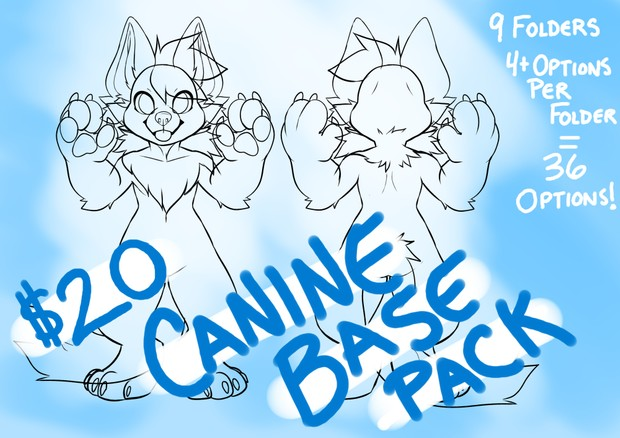 Canine base pack!