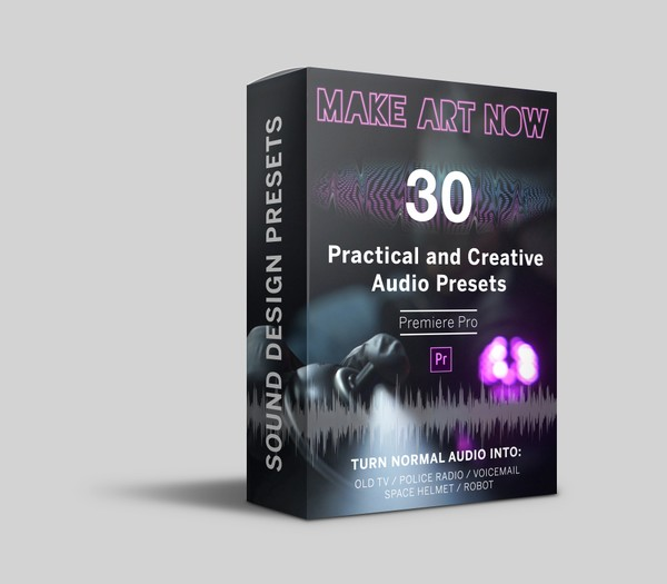 Creative and Practical Audio Presets (Premiere Pro Presets)