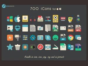 iConadams 700 icons