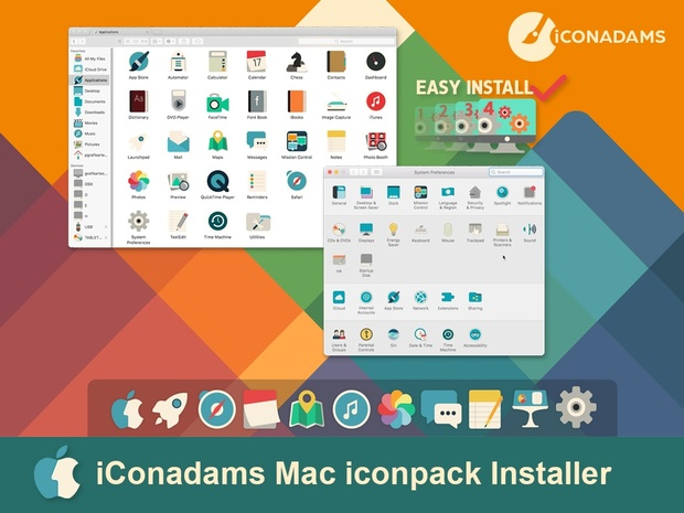 iConadams Mac iconpack installer