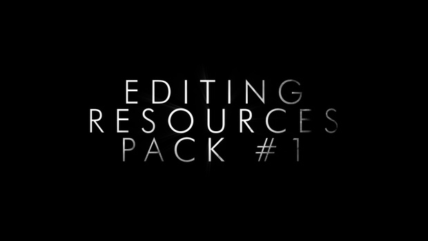 Editing Resources Pack #1