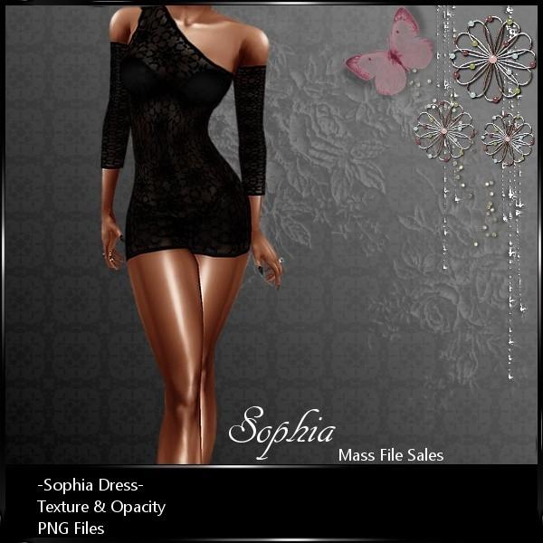 IMVU Clothing Sophia Dress