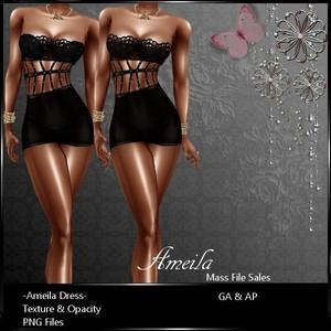 IMVU Textures Ameila Dress