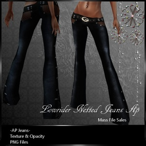 Lowrider Netted AP Jeans