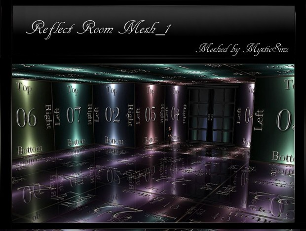 IMVU Mesh Reflect Room Mesh_1