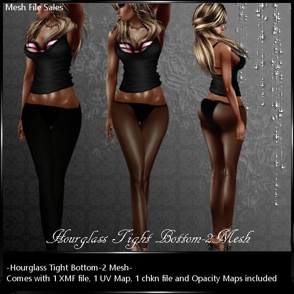 IMVU Mesh HourglassTight Bottom_2